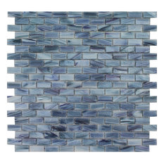 "Azurite 1/2"" x 1"" Mosaic - Glass Tile"