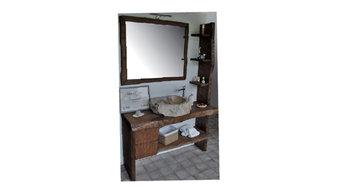 mobile bagno in massello