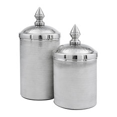 Botes Silver Canisters, Set of 2
