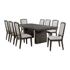 Sunset Trading Cali 9 Piece Extendable Dining Set