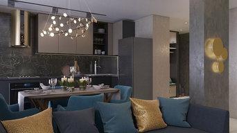 3-х комнатная квартира в современном стиле