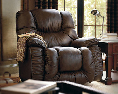 Lane Bulldog 8470 Leather Rocker Recliner - Recliner Chairs & Recliners islam-shia.org