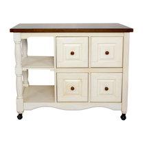 Andrews 4-Drawer Kitchen Cart