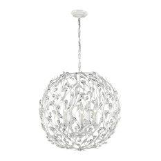 elk circeo 5 light pendant in antique white pendant lighting antique white pendant lighting