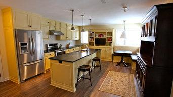 Kitchen design by Holden-Most Interiors