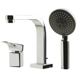 Contemporary Tub And Shower Faucet Sets by Alfi Trade