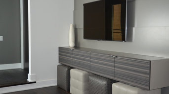 Modern style cabinetry