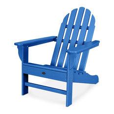 Trex Outdoor Furniture Cape Cod Adirondack Chair, Pacific Blue