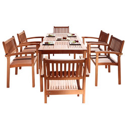 Transitional Outdoor Dining Sets by Vifah