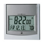 Howard Miller Techtime I Accuwave DS Radio-Controlled Clock, Temperature