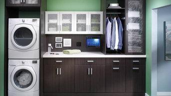 Laundry Room Storage & Organization