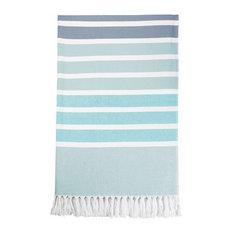 Costa Rei Beach Towels, Aqua