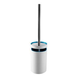 Idol Toilet Brush Set, Blue