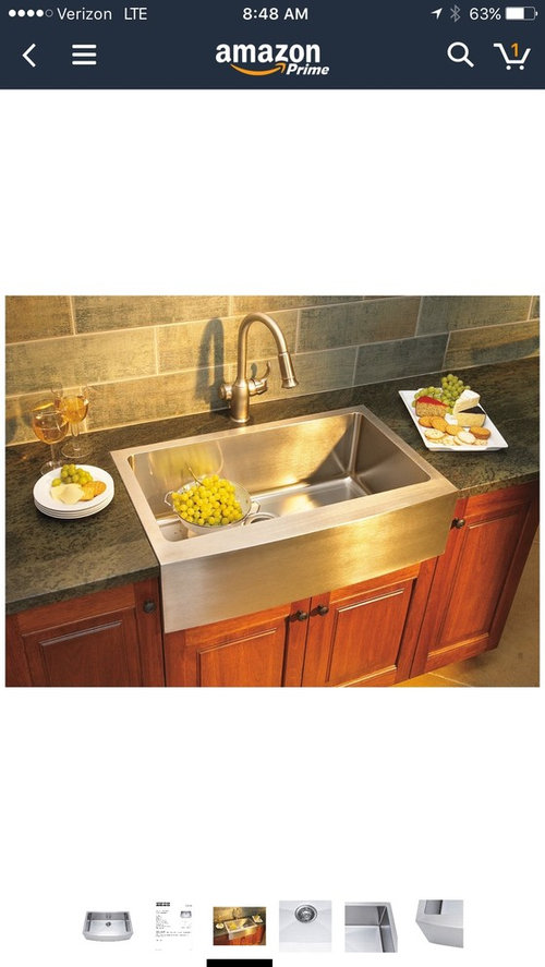 Stainless Steel Vs Cast Iron Apron Front Sink?