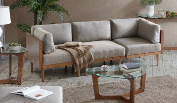 A Cozy Fall Living Room