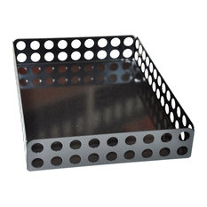 Perforated Candle Tray, Black