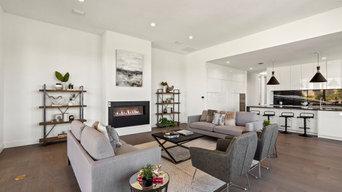 Spanish Oaks Luxury Black & White Modern Kitchen