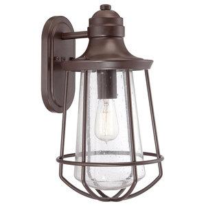 Western Bronze 1-Light Lantern, Large