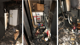 Fire Damage Before - PuroClean of Central Denver