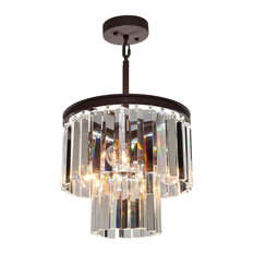 El Dorado 3-Light Java Brown Chandelier