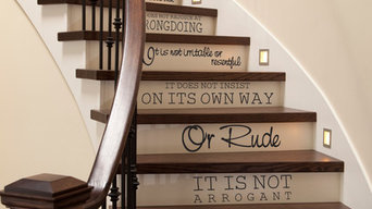 Stair Lettering