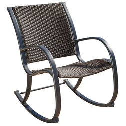 Contemporary Outdoor Rocking Chairs by GDFStudio