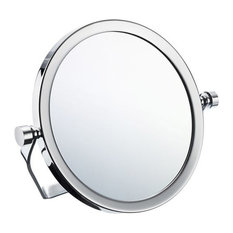 Smedbo FK443 Outline, Travel Mirror With swivel stand, Polished Chrome