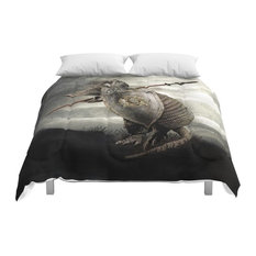 Society6 Armadillo By Eric Fan and Viviana Gonzalez Comforter, Queen, 88x88