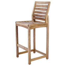Transitional Outdoor Bar Stools And Counter Stools by Westminster Teak