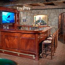 Home Bars + Wine Cellars