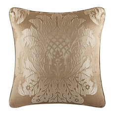 """Colonial Square Pillow, Gold, 18"""""""