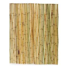 "Boedika Rolled Bamboo Fence, 3/4"" diameter poles, 8'L x 4'H"