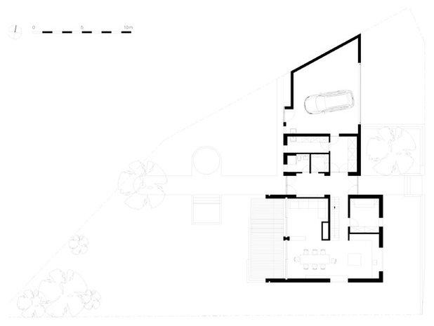 Modern Grundriss by CAMA A