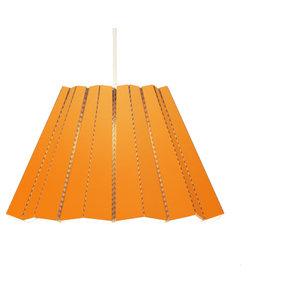 Andbros Model No 1 Pendant Lamp, Orange, Large