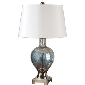 Mafalda Mercury Glass Lamp By Designer Billy Moon