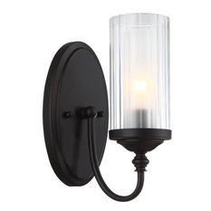 Hardware House Lexington 1 Light Wall Fixture, Oil Rubbed Bronze