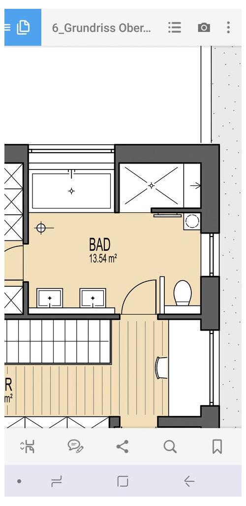 Badezimmer aufteilung neubau badezimmer galerie schne for Aufteilung badezimmer