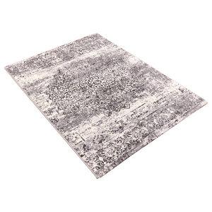 Galleria Grey Rectangular Rug, 200x290 cm