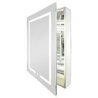 Kent LED Mirrored Bathroom Medicine Cabinet