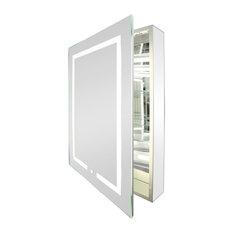 MOD - Kent LED Mirrored Bathroom Medicine Cabinet - Medicine Cabinets