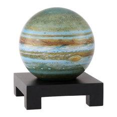 "MOVA 6"" Jupiter Revolving Globe With Square Black Wood Base"