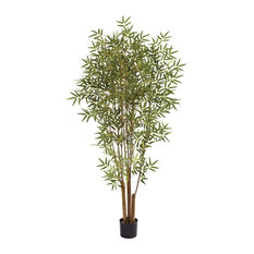 Nearly Natural, Inc. - 6' Japanese Bamboo Tree - Artificial Plants and Trees