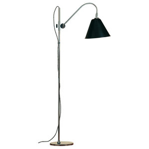 Bauhaus Floor Lamp, Black