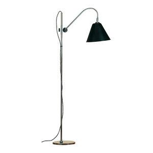 Bauhaus Floor Lamp, Black
