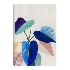 American Art Decor Abstract Tropical Plants Outdoor Canvas Art Print