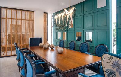 Hyderabad Houzz: This Grand Home Has an Eclectic Personality to Match