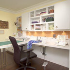 Richmond Hill Project Sewing Room Contemporary Home