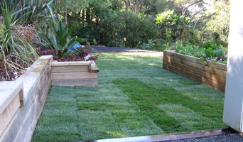 Laying down instant lawn