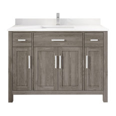 Kali Vanity With Power Bar And Drawer Organizer 48-inch