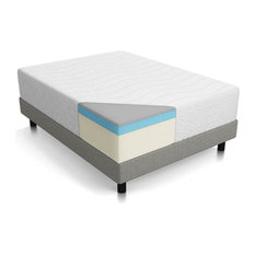 "Residence - Fantasy 14"" Four Layer Memory Foam Mattress, Queen - Mattresses"